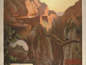 Affiche chemins de fer du Midi