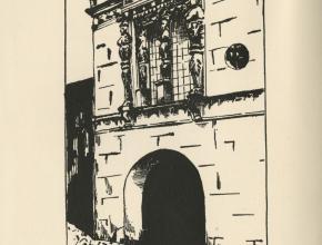 Frontispice de La Grenouille et les Trois Nourrices Benjamin Crémieux réalisé par Marguerite Tiquer