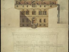 Restauration façade Hôtel-Dieu de Narbonne