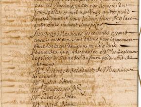 Registres du bureau de police de la maison consulaire de Narbonne, du 1er septembre 1696, sur une marchande de glace malhonnête 4/4