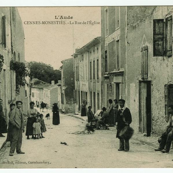 Image du garde champêtre de Cenne-Monestiès