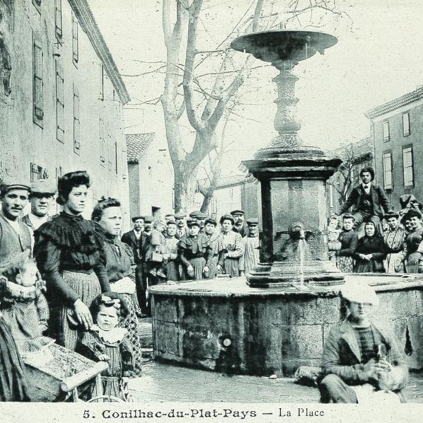 Fontaine de Conilhac-corbières