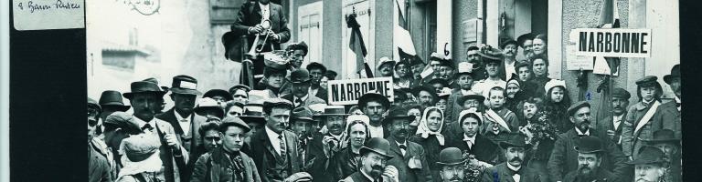 Manifestations vignerons 1907