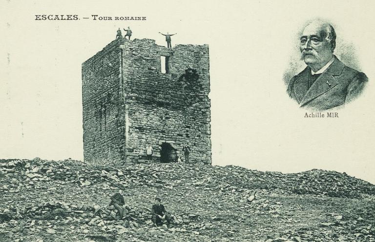 Tour romane d'Escales
