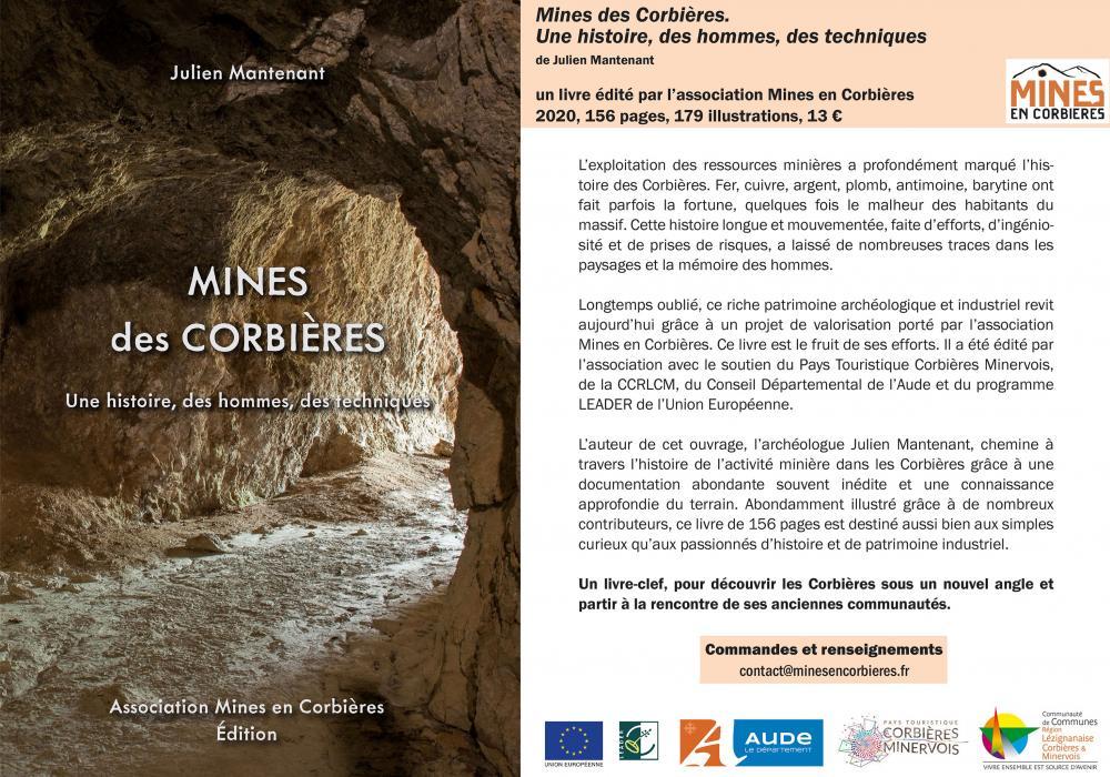 Ouvrage sur les mines des Corbières