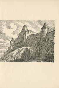 Frontispice de Jacques Ourtal pour L'enlèvement de la Cité de Luc Alberny