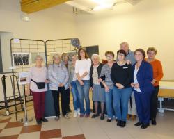 Equipe association des Amis du Patrimoine de Bizanet