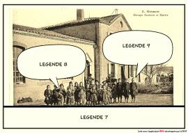 Ecole d'Orsans d'après la carte postale F°6/548