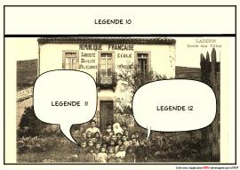 ecole de ladern d'après la carte postale F°6/327