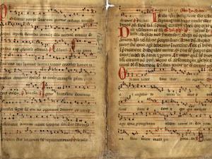 Manuscrit musical : extrait de l'office de saint Saturnin.s. d. [XIVe s. ?]