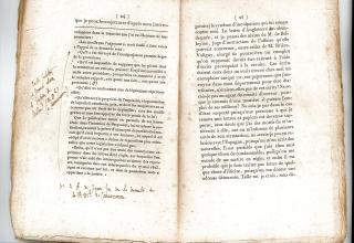 Annotations de Léon Nelli