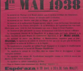 Affiche 1er mai