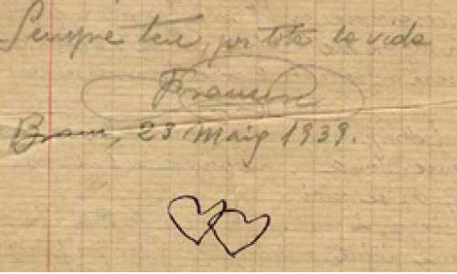 lettre de réfugiés espagnols